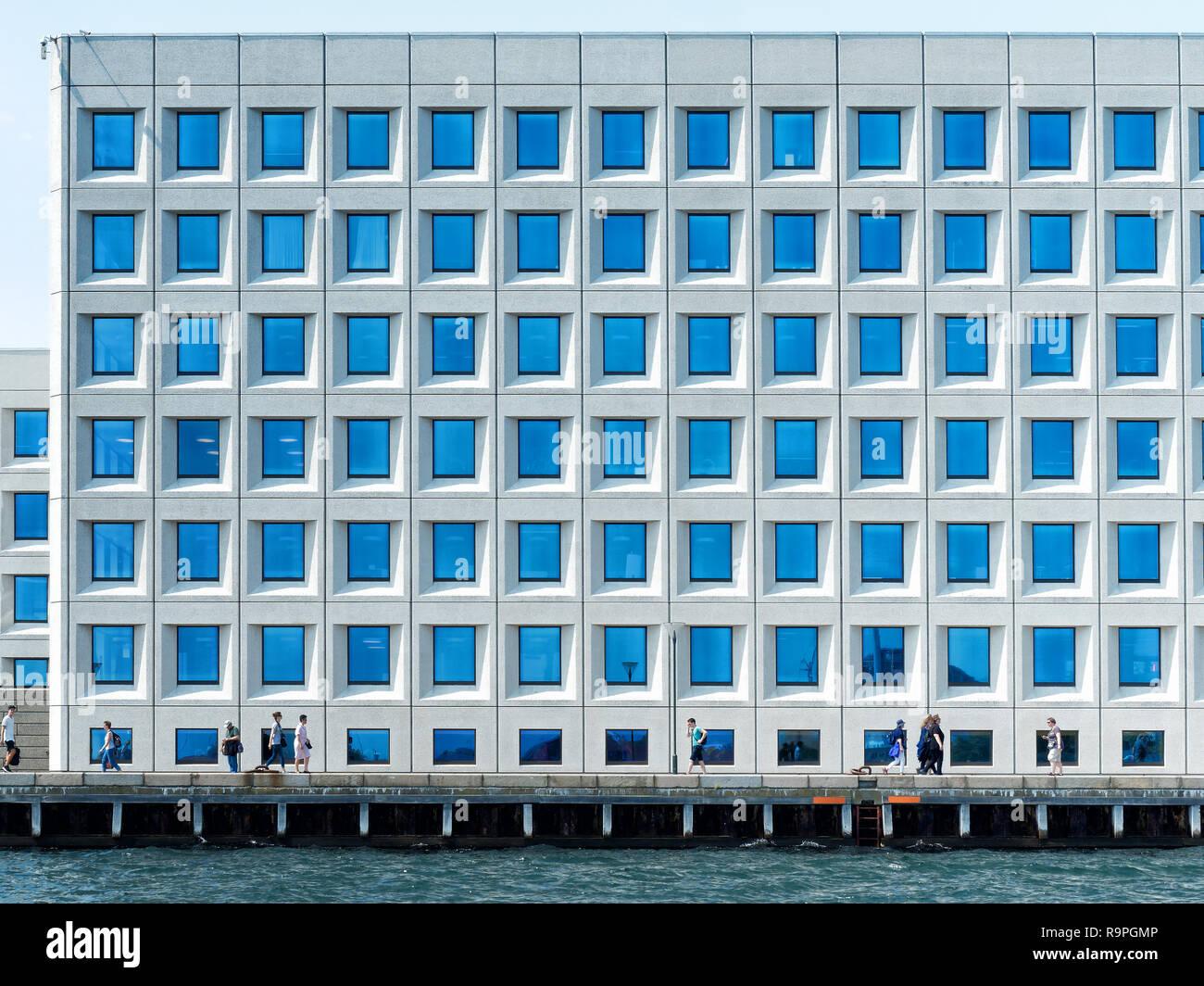b62ca0d4 Copenhagen Denmark Glass Office Building Stock Photos & Copenhagen ...