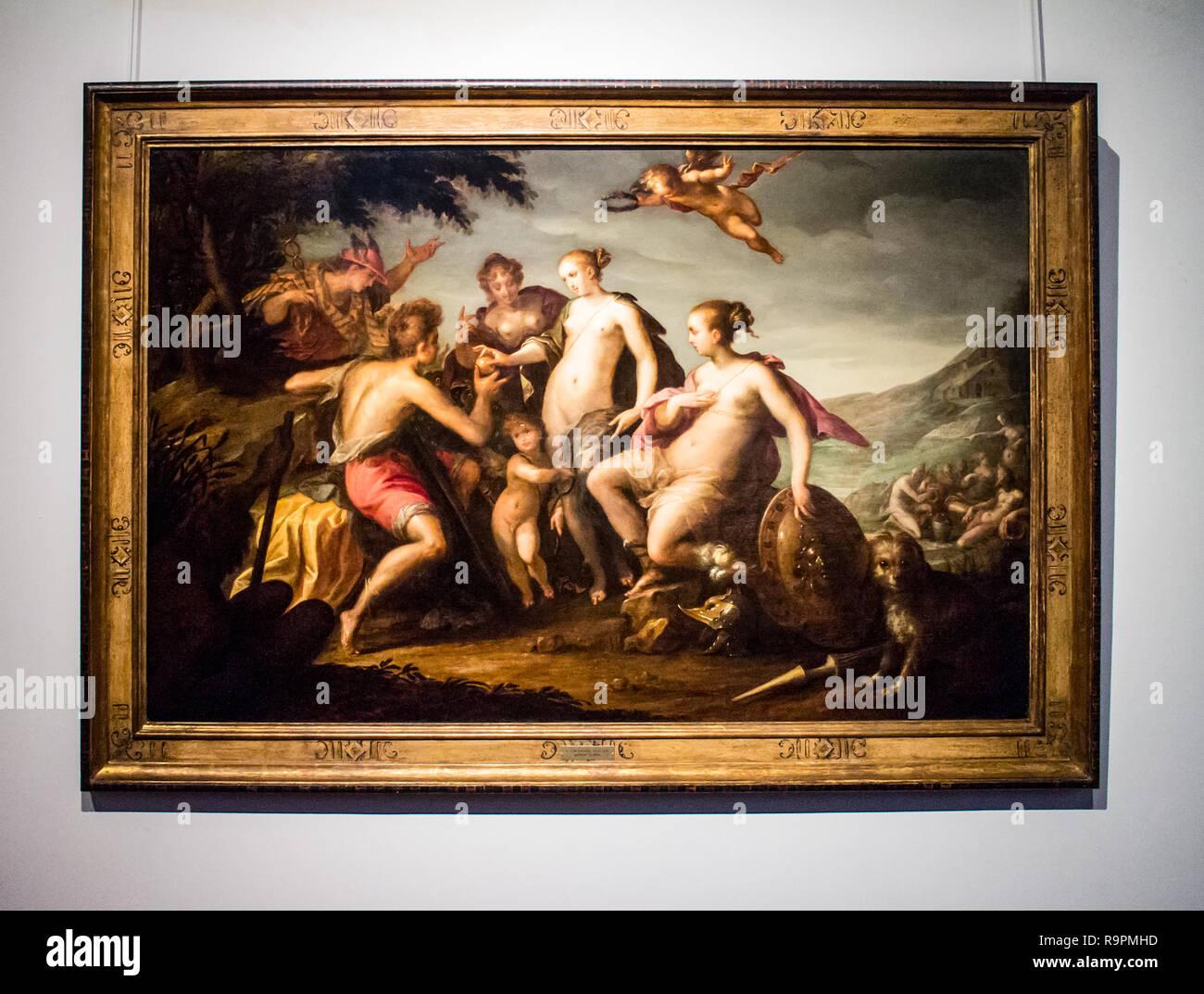 Musée de la Chartreuse à Douai : Hans Von Aachen (1552-1615) Ca 1588 - Stock Image