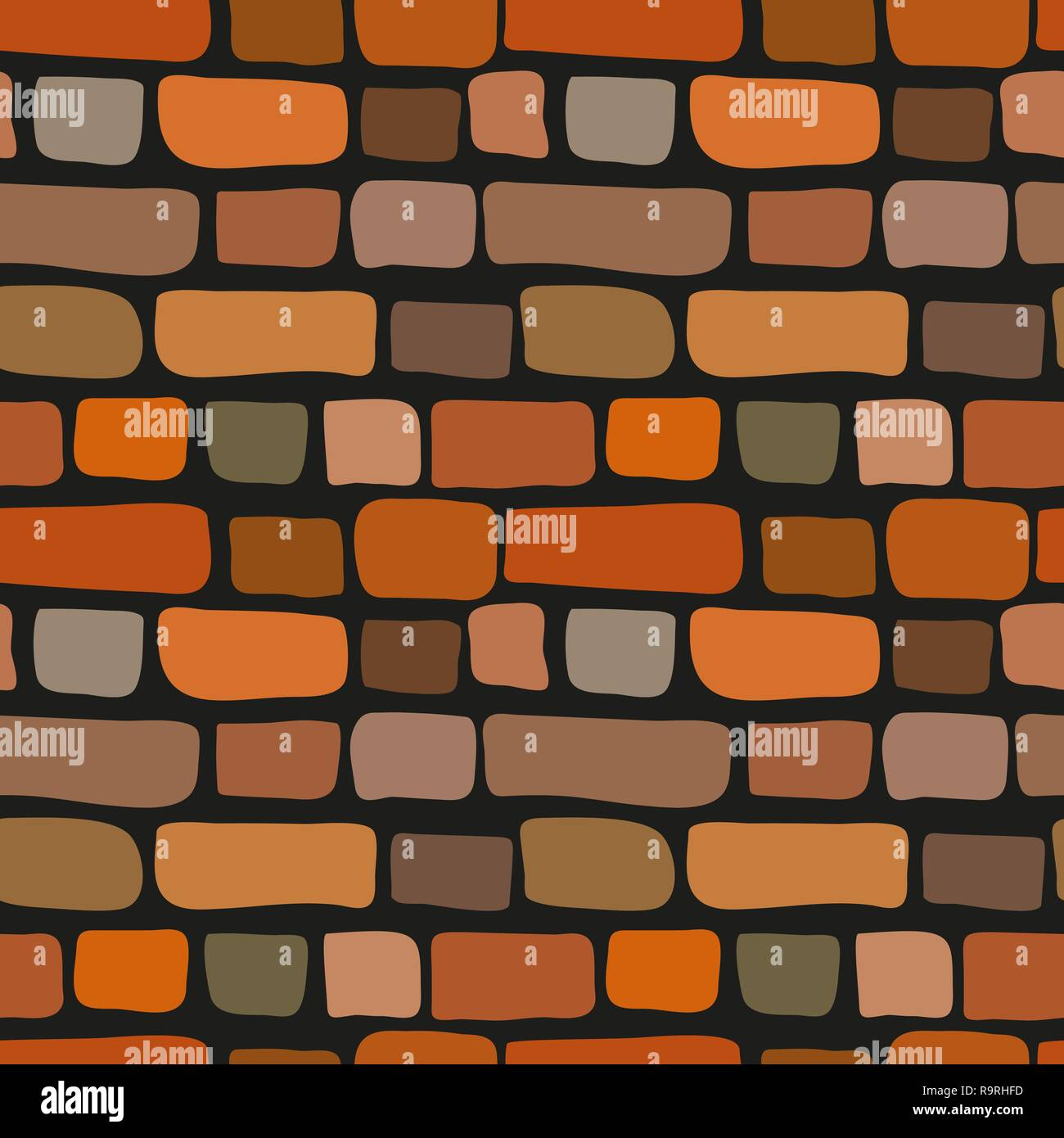 Brick Wall Stock Vector Images