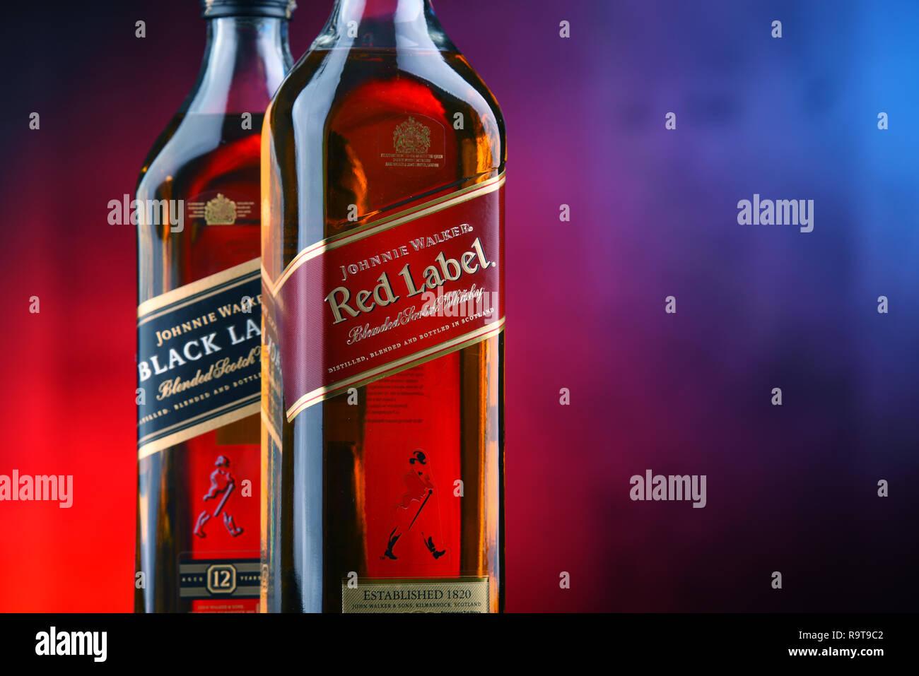 Johnnie Walker Red Label Stock Photos & Johnnie Walker Red