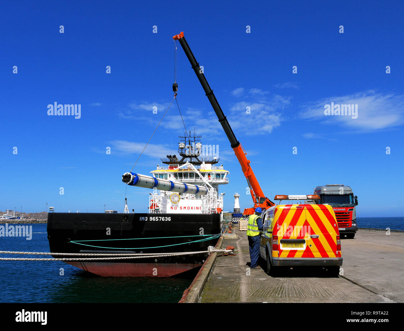 Cargo Handling - Stock Image