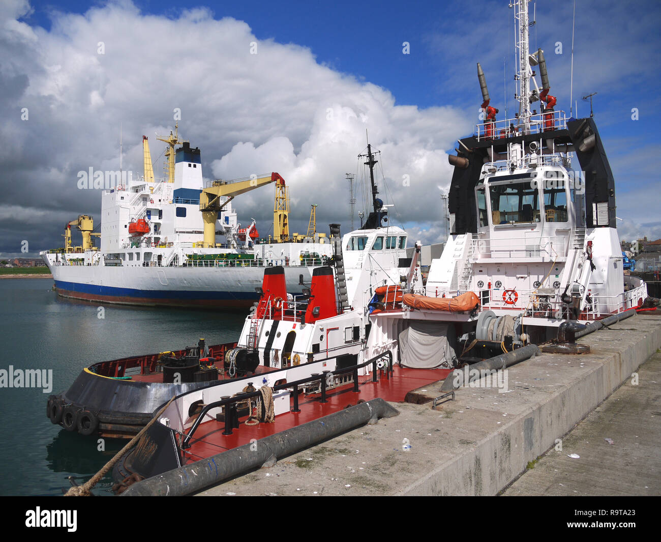 Harbour Tugs Scenic - Stock Image