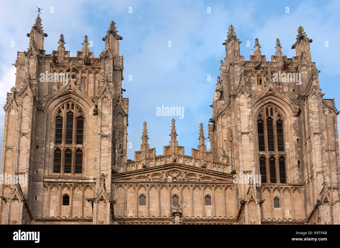 Beverley Minster in Beverley, East Riding of Yorkshire, parish Church of England. It is one of the largest parish churches in the UK Stock Photo