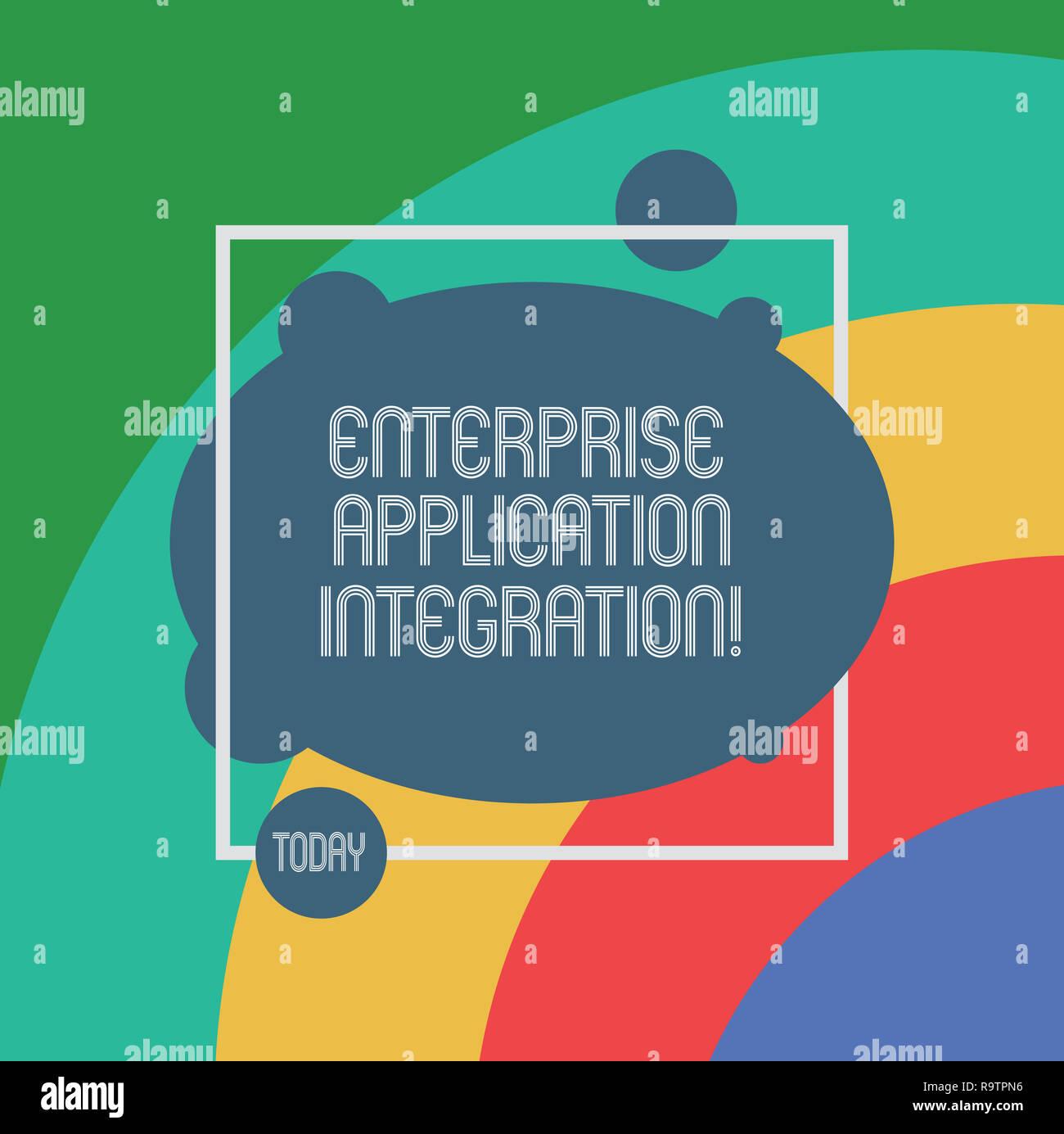 Handwriting Text Enterprise Application Integration Concept