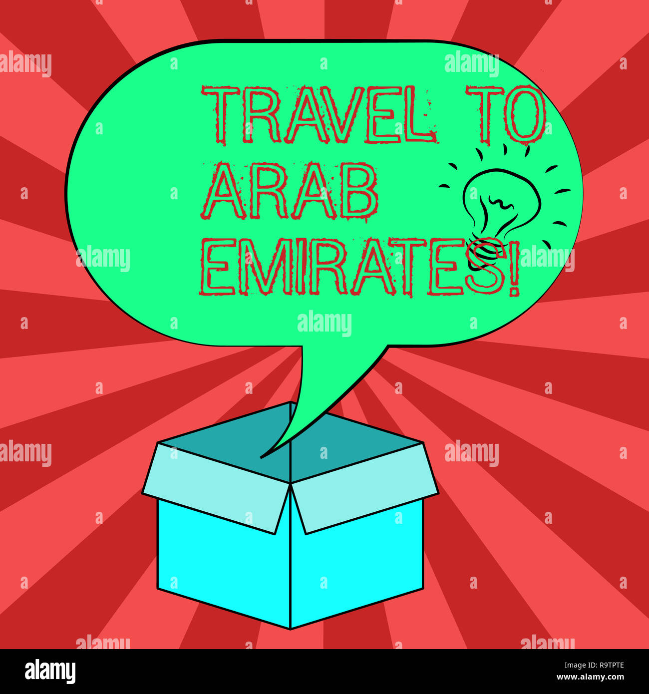 Conceptual Hand Writing Showing Travel To Arab Emirates Business