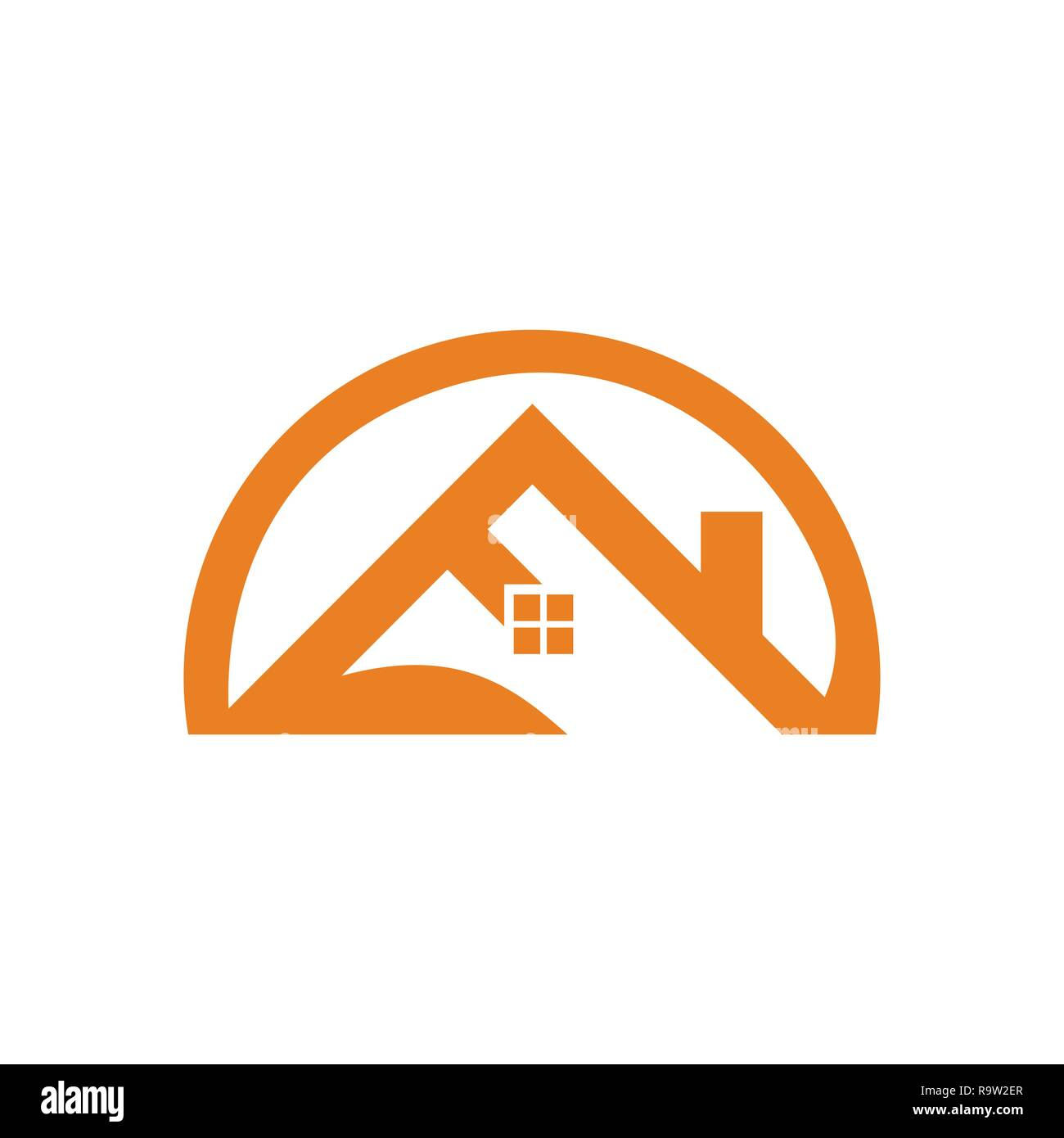 Security Hut Symbol: Roof Element Stock Photos & Roof Element Stock Images