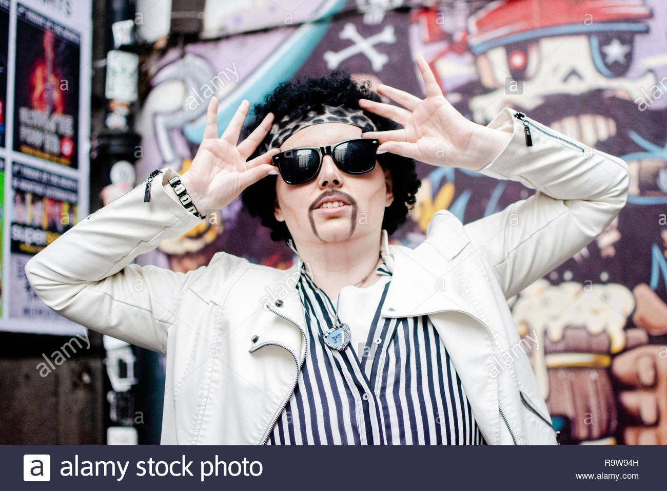 Justin Hawkins - Live @ The Fleece. - Stock Image