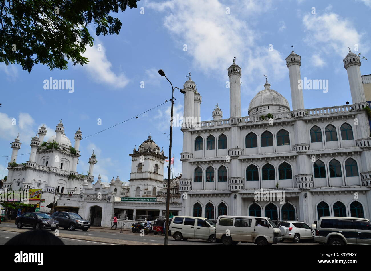 A mosque in Colombo Stock Photo