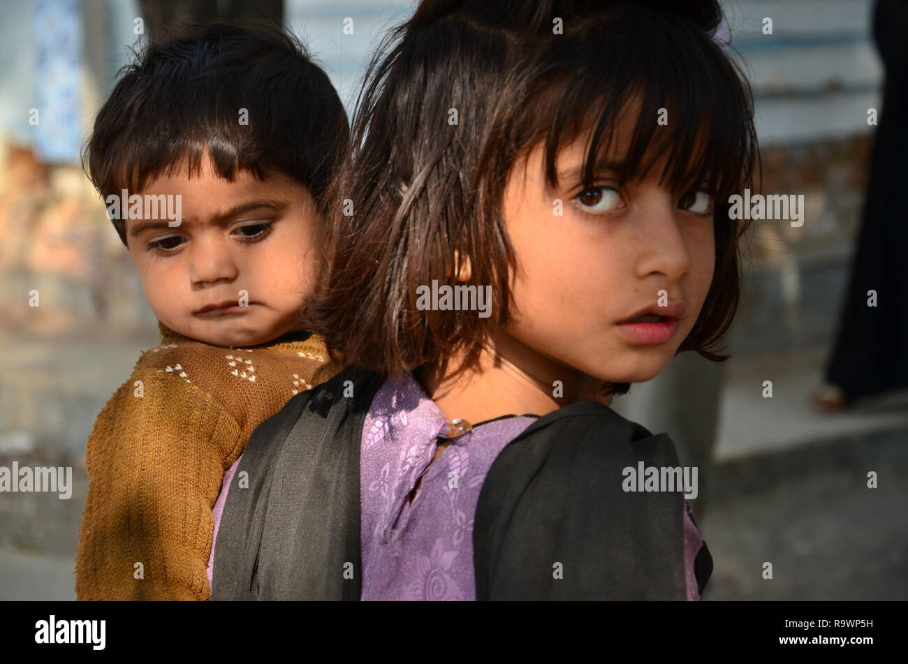 Children in Pakistan - Stock Image