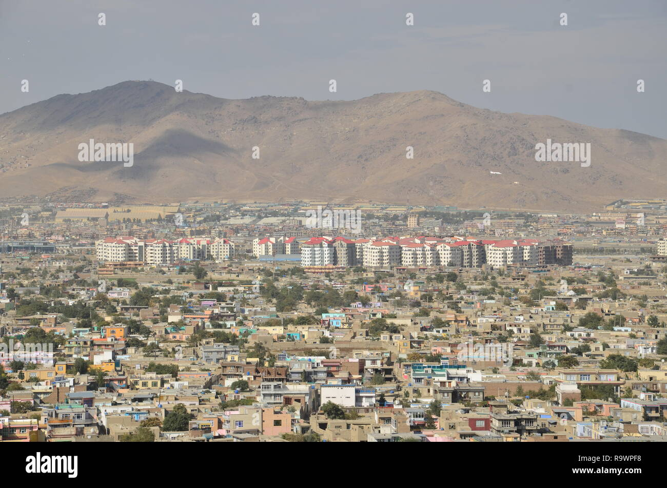 A view of Kabul city, Afghanistan. Stock Photo