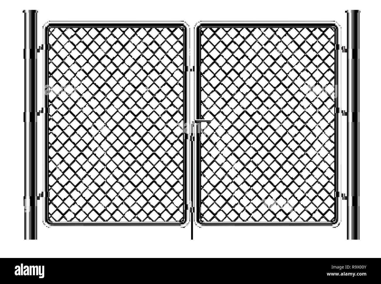 Chain Link Fence Art Designs