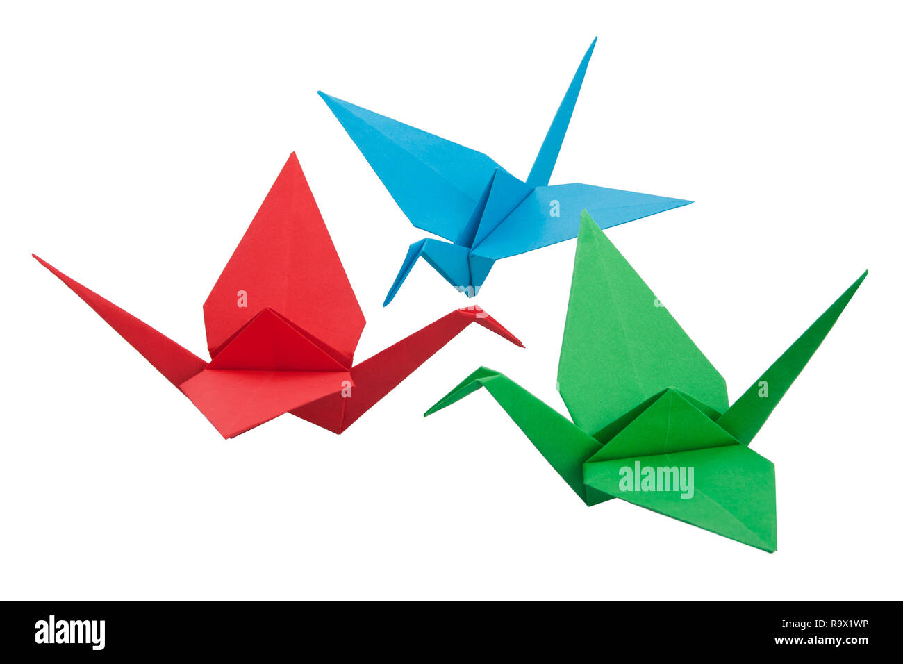 rainbow origami crane mobile. One of the many I shall make after ...   956x1300