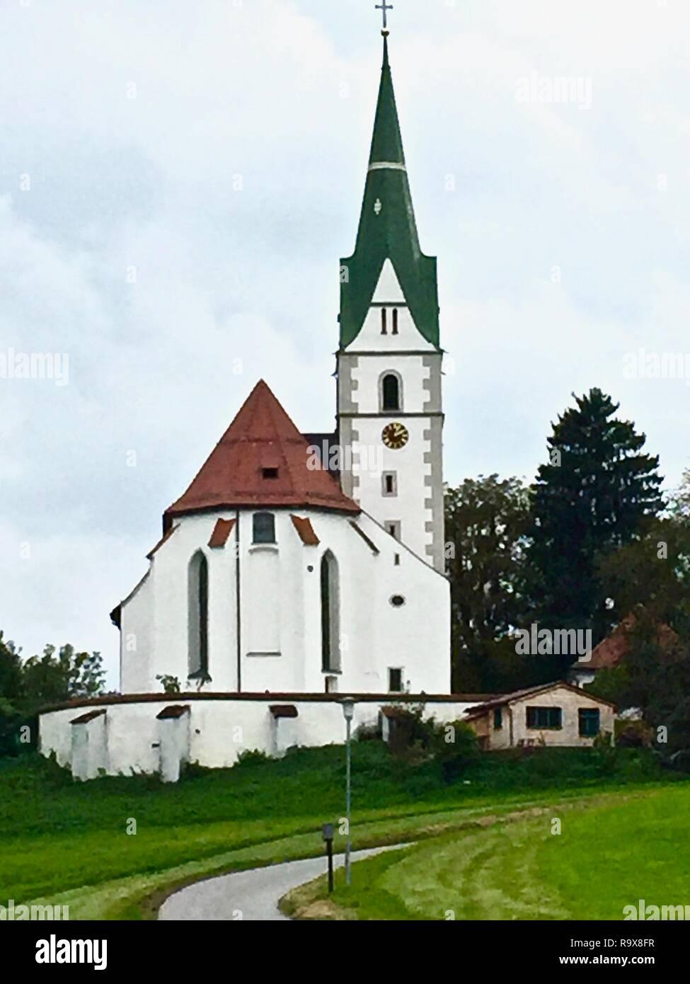 Weiss Kirche, Bavaria - Stock Image
