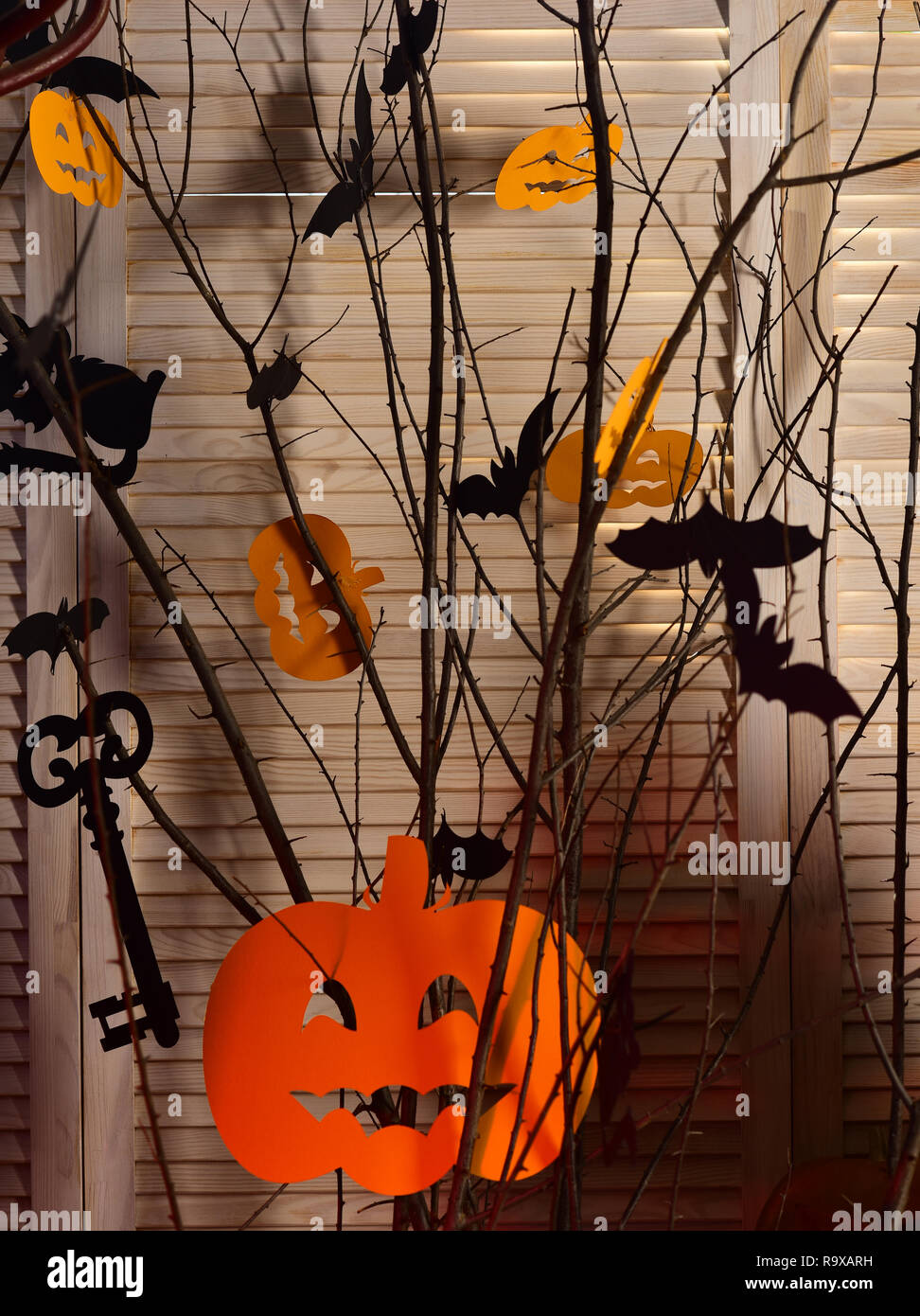 Halloween Party Decorations Halloween Symbols Hang On Tree