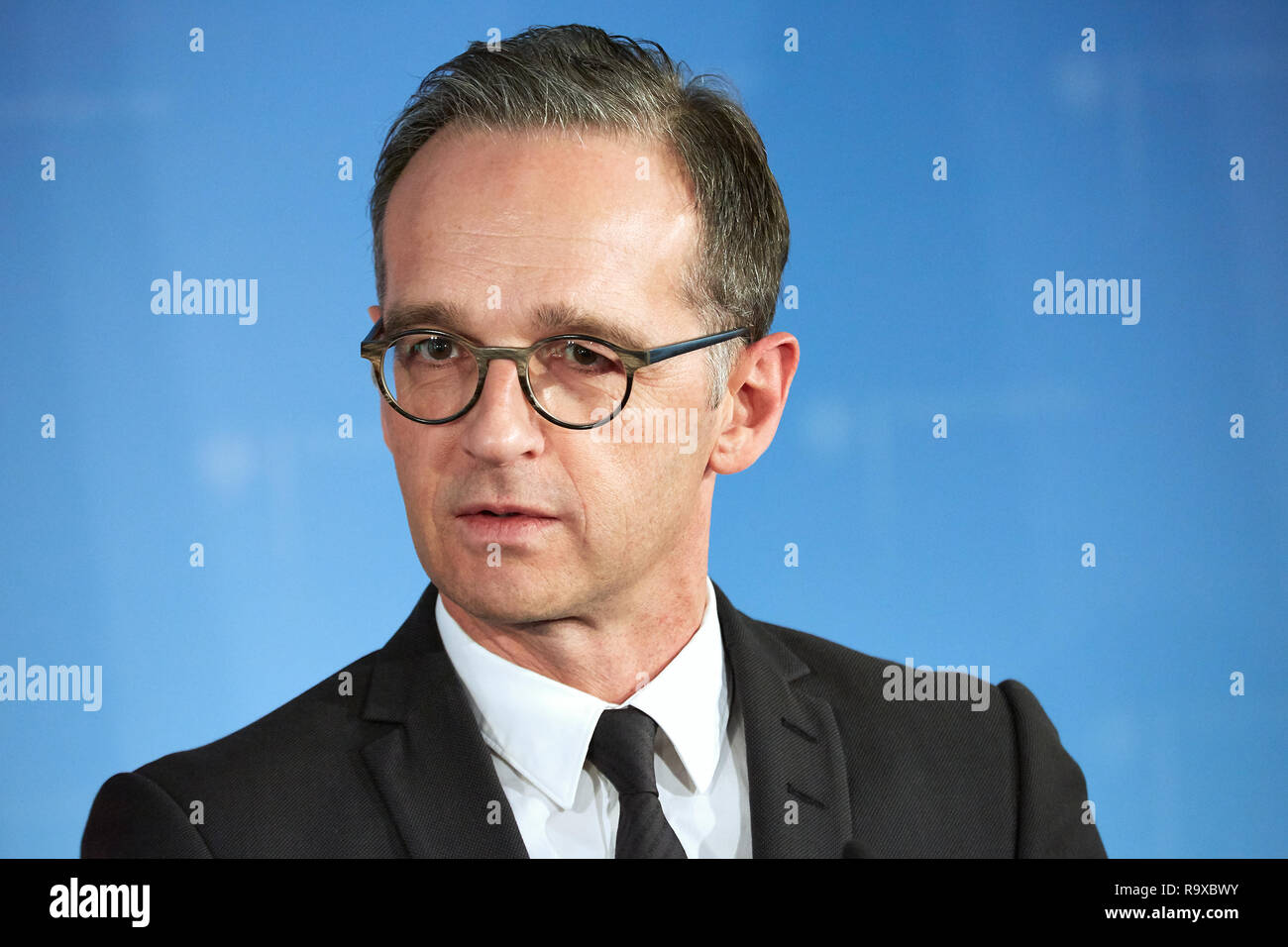 17.10.2018, Berlin, Deutschland - Bundesaussenminister Heiko Maas. 00R181017D020 [MODEL RELEASE: NO, PROPERTY RELEASE: NO (c) caro images / Thomas Ruf - Stock Image