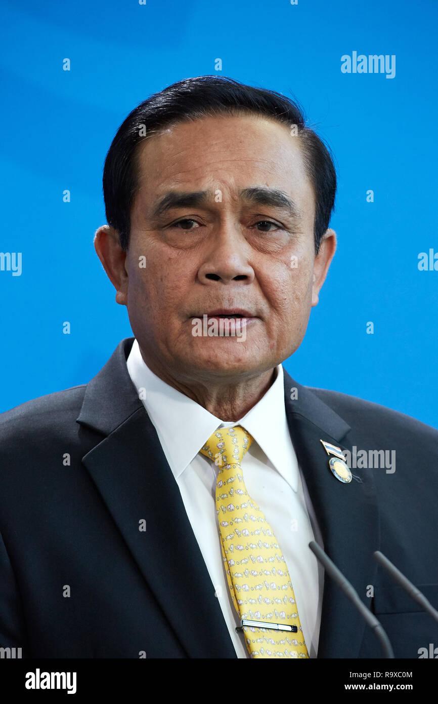 26.11.2018, Berlin - Der thailaendische Ministerpraesident General Prayut Chan-o-cha. 00R181128D067CARO.JPG [MODEL RELEASE: NO, PROPERTY RELEASE: NO ( - Stock Image