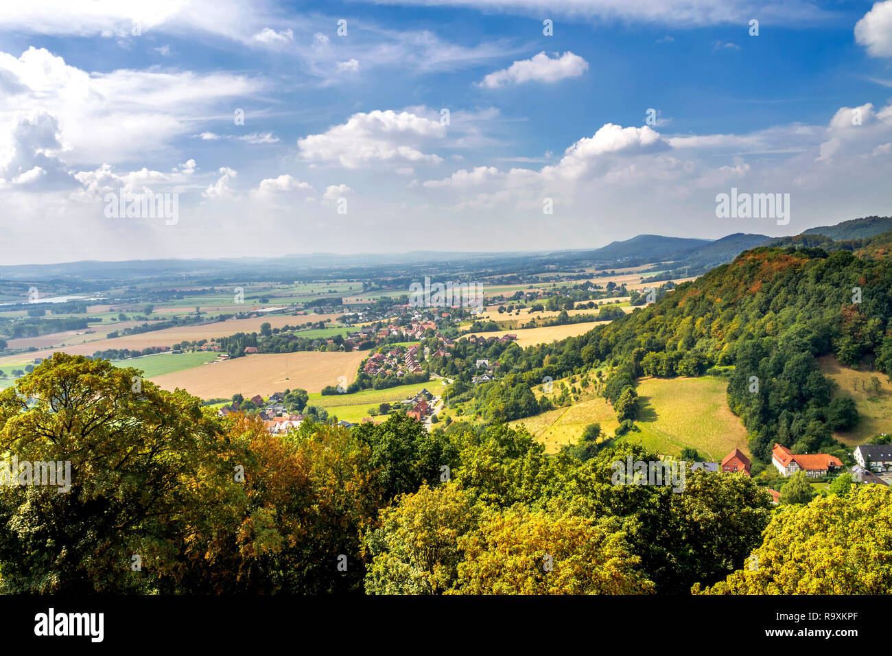 Schaumburg, Rinteln, Castle - Stock Image
