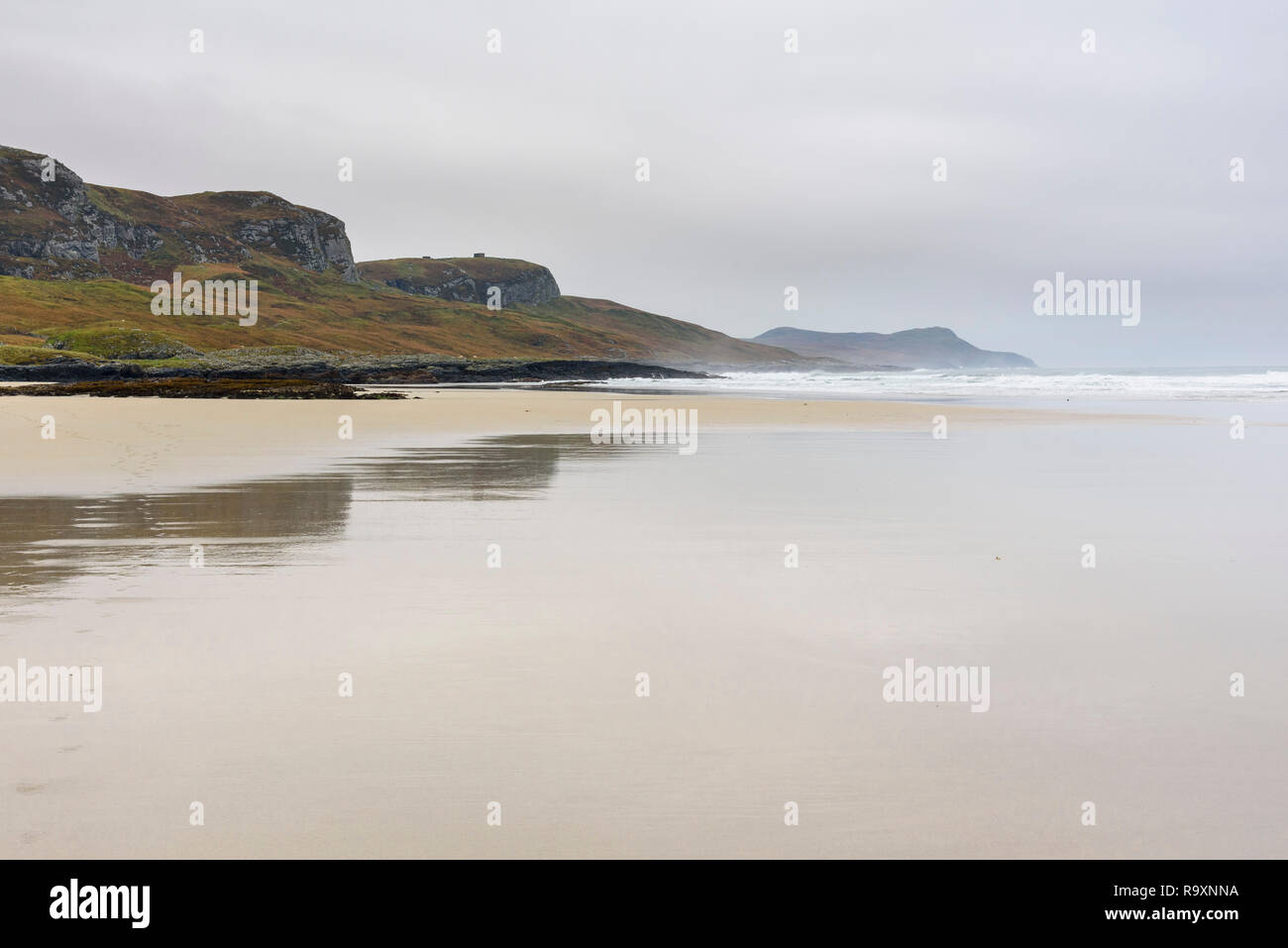 Machir Bay, Traigh Mhachir beach, Rhinns of Islay, Inner Hebrides, Argyll & Bute, Scotland - Stock Image