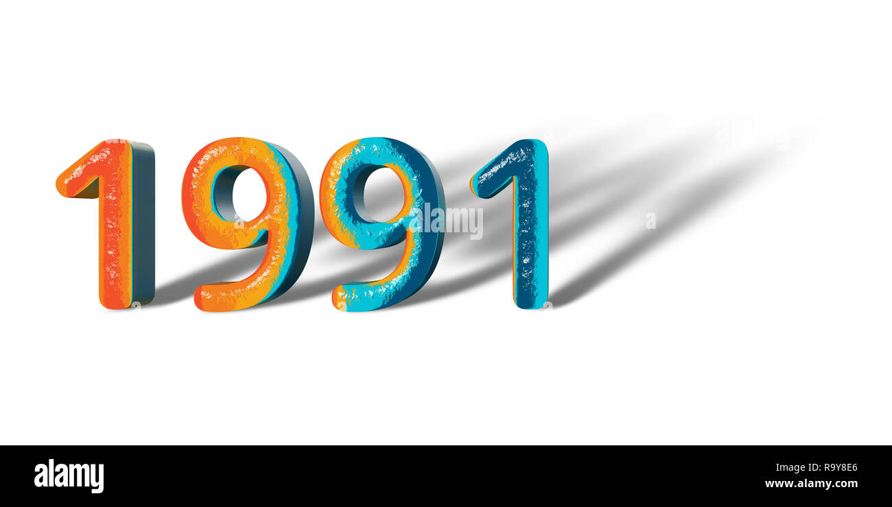 The Year 1991 High Resolution Stock Photography and Images - Alamy