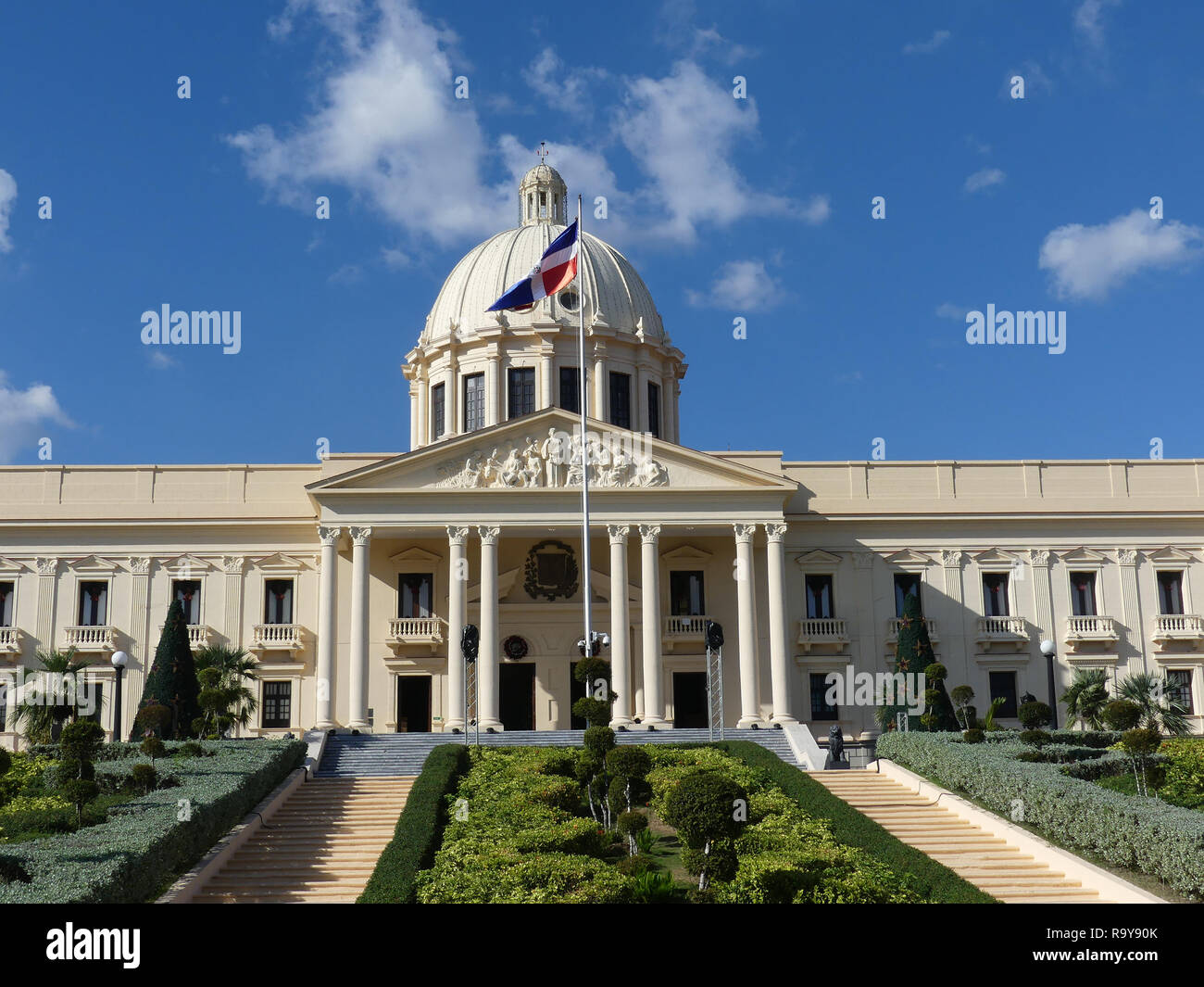 PRESIDENTIAL PALACE in Santo Domingo, Dominican Republic.Photo: Tony Gale - Stock Image