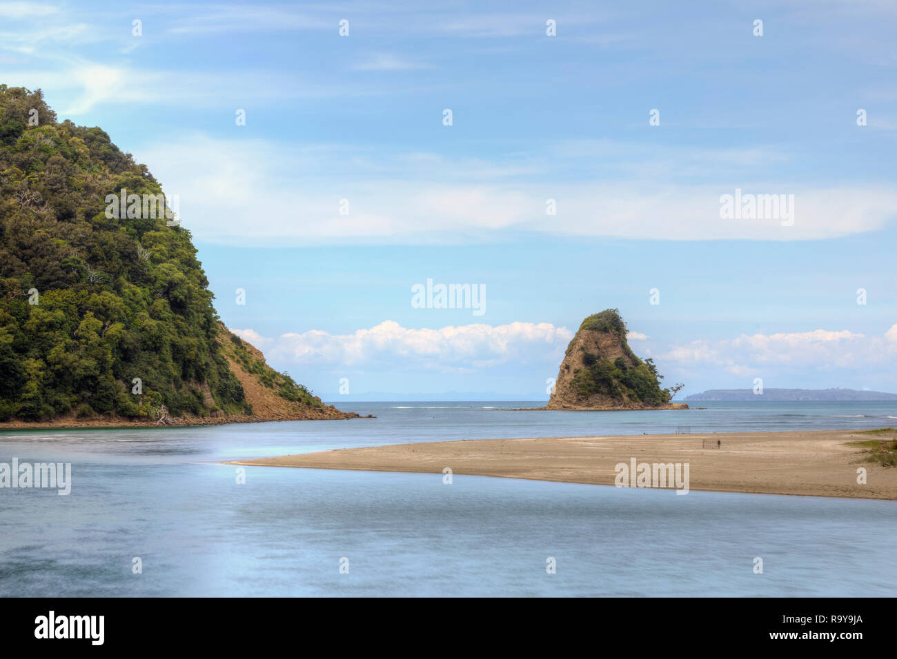 Waiwera, Auckland, North Island, New Zealand - Stock Image