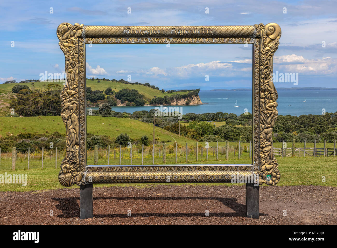 Shakespear Regional Park, Auckland, North Island, New Zealand - Stock Image