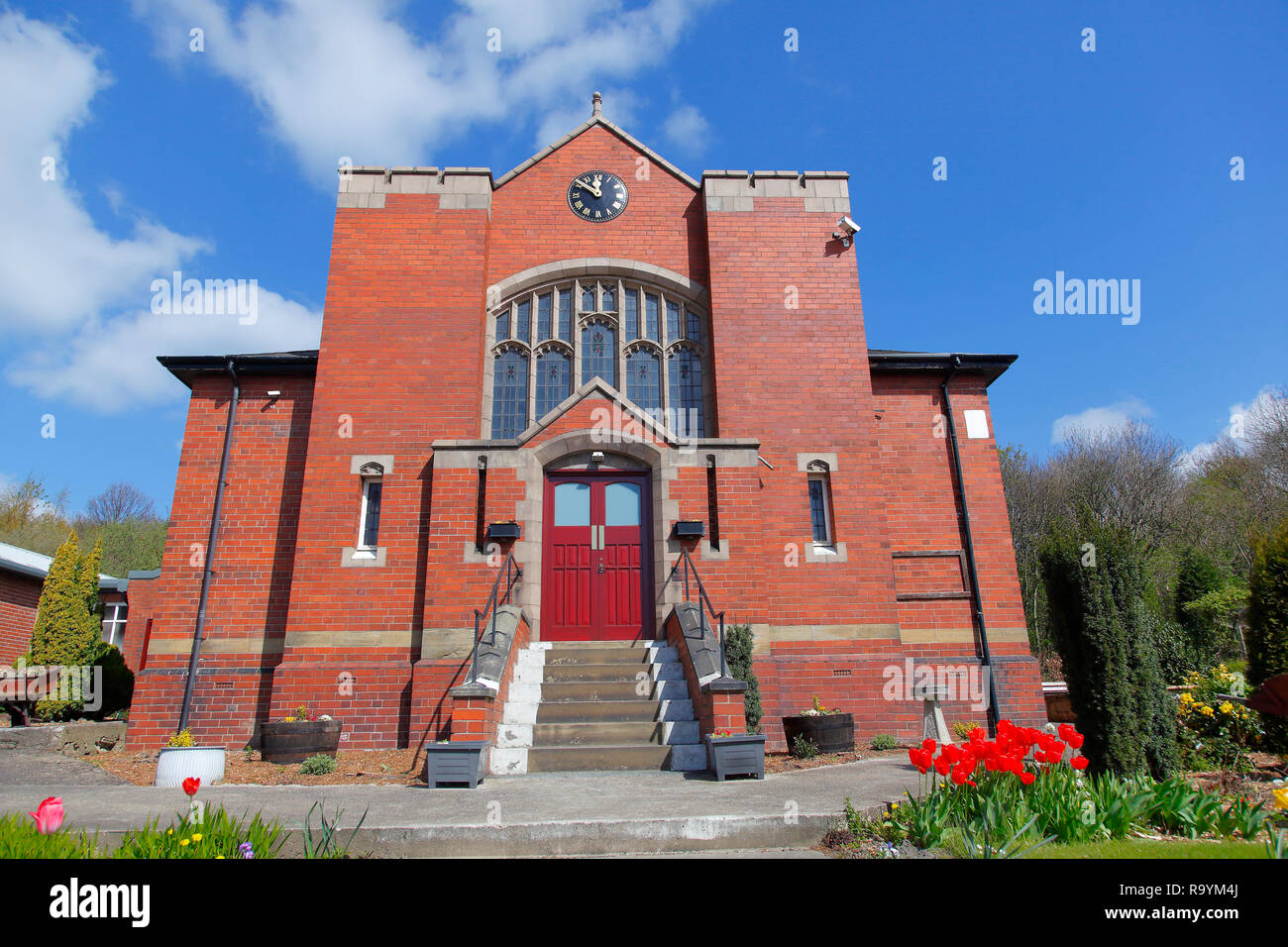 Bowers Allerton Mission on Queen Street in Great Preston,Leeds,West Yorkshire - Stock Image