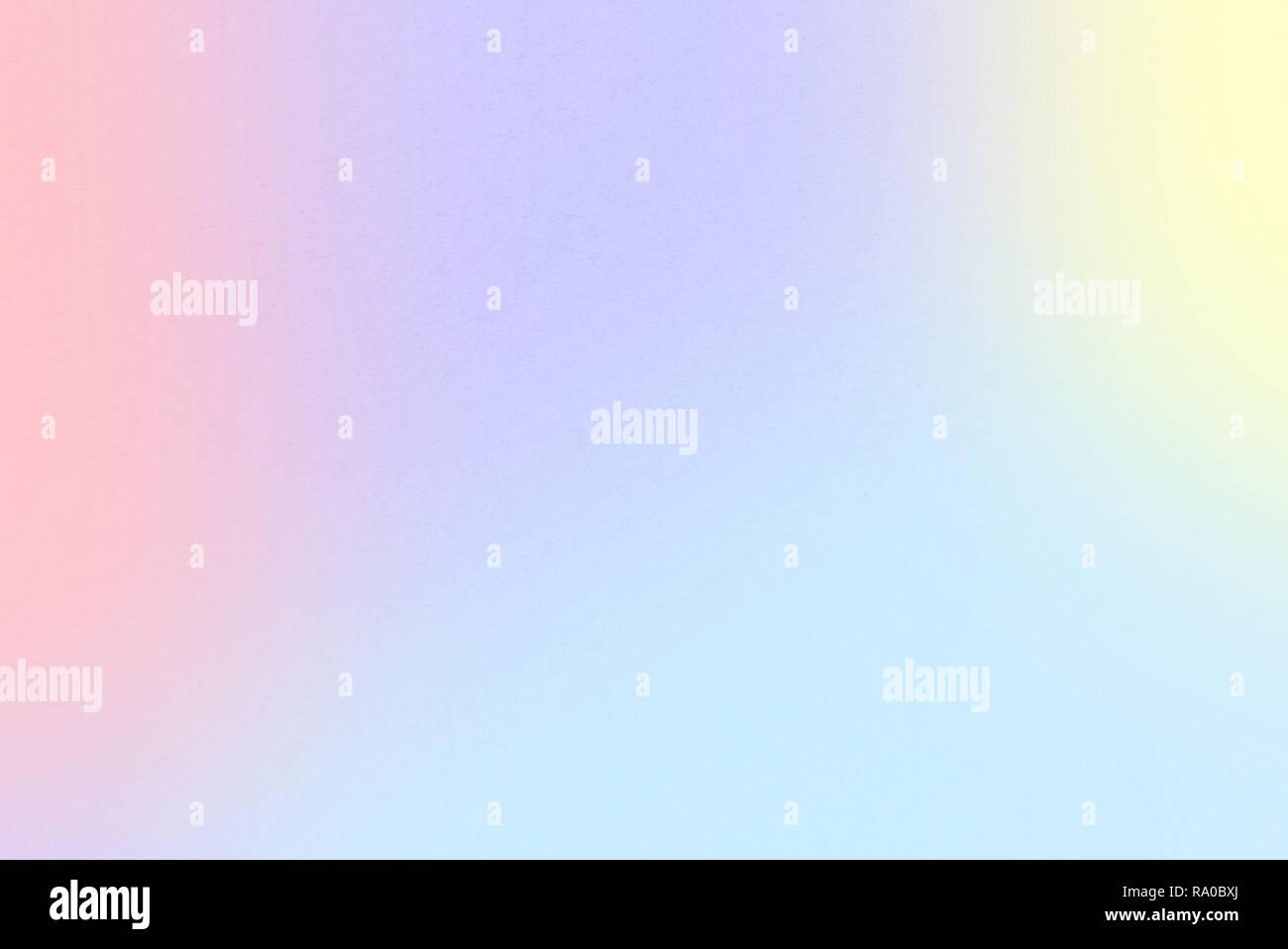 Rainbow Pastel gradient wallpaper background with Pastel Yellow, Maximum Blue Purple, Pale Cyan, Tulip, Melon, Magic Mint colors, and watercolor paper