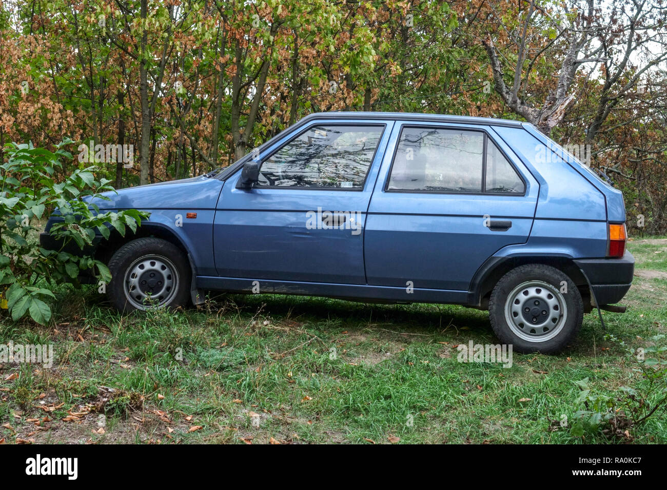 Skoda Felicia hatchback, produced from 1994 to 2001, Czech Republic - Stock Image