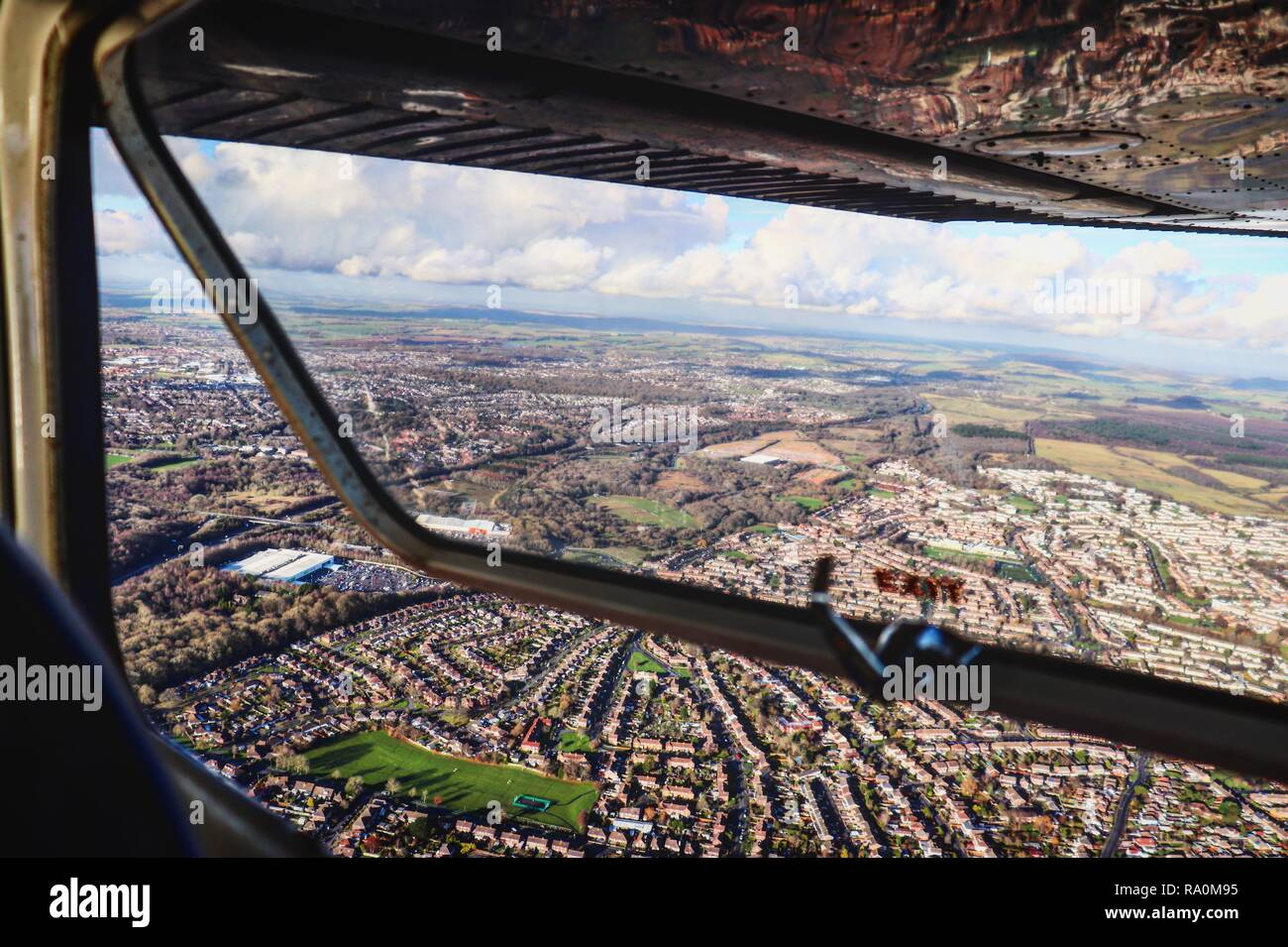 Hampshire from the Air - Stock Image