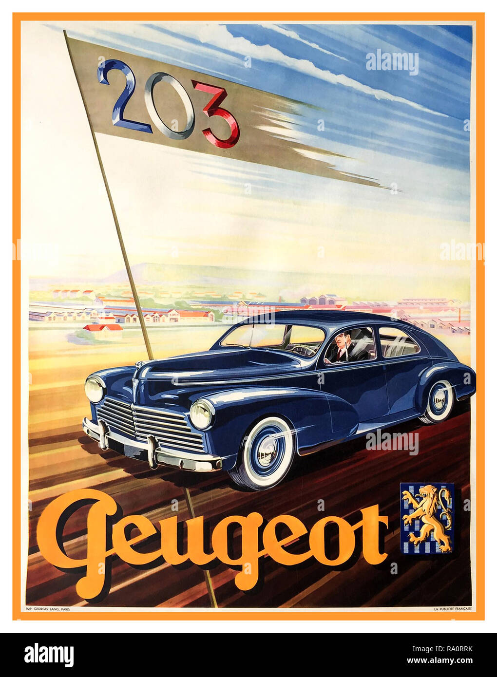 Salmson Automobile French Car Vintage European  Advertisement Art Poster Print