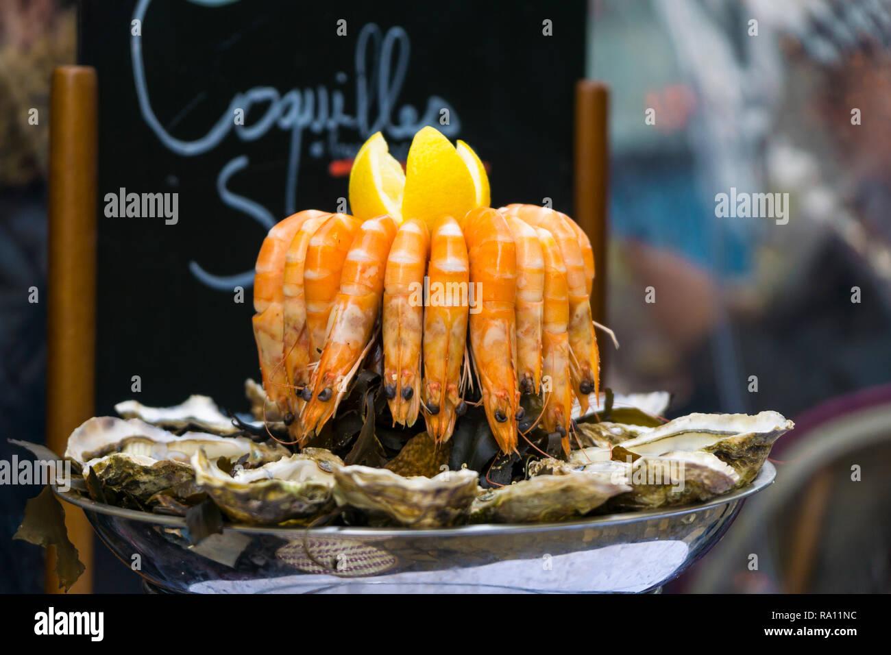 Paris Food - Stock Image