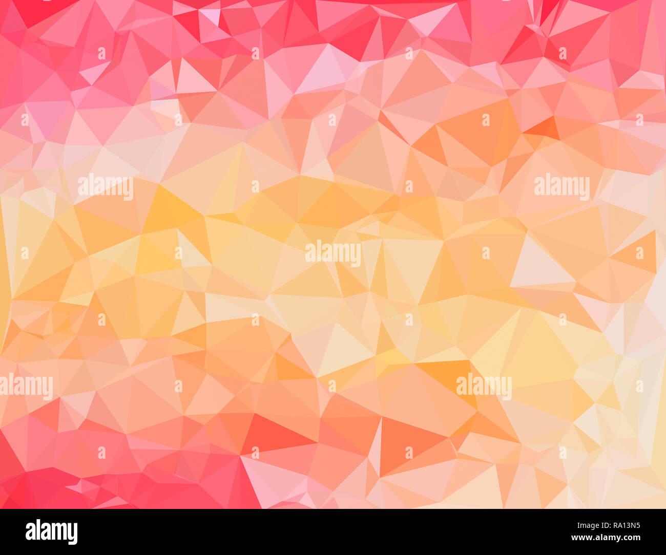 High Resolution Futuristic Colorful Polygon Mosaic Vector