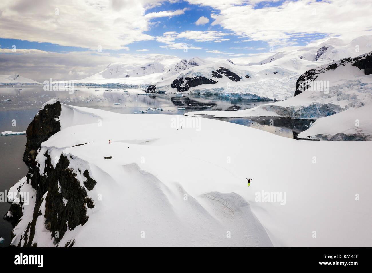 Paradise Harbor, Antarctica - Stock Image