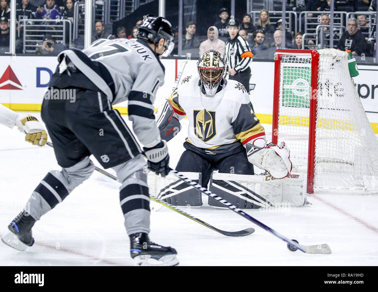 Los Angeles California Usa 29th Dec 2018 Vegas Golden Knights
