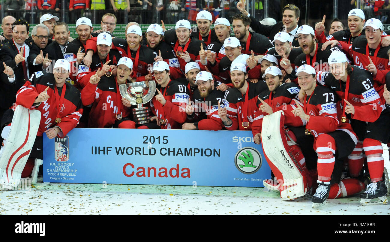 Sammeln & Seltenes Fahne Banner 2015 Ice Hockey World Championship Czech Republic Prag Ostarva #16