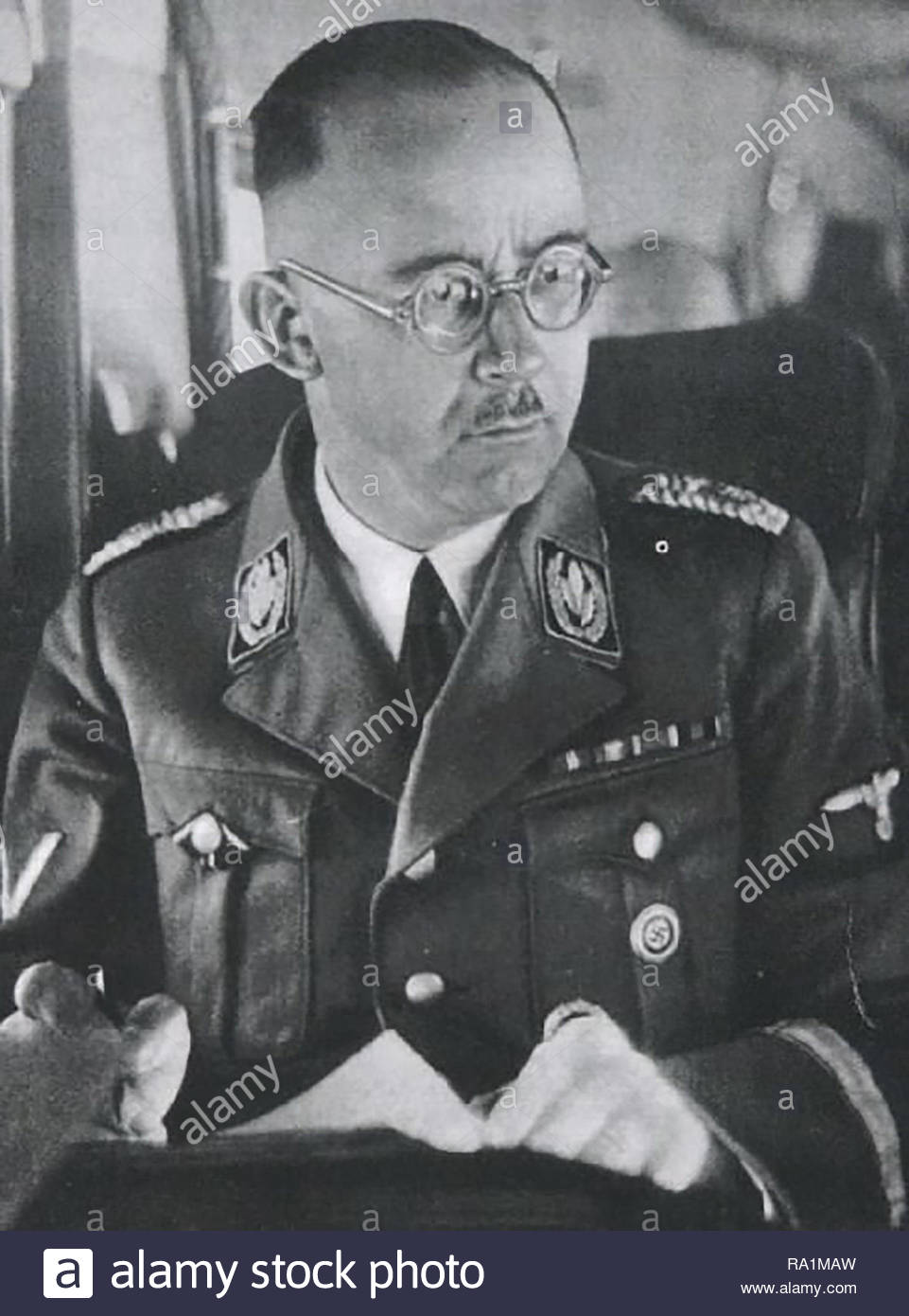 HeHeinrich Luitpold Himmler (7 October 1900 – 23 May 1945) - Stock Image