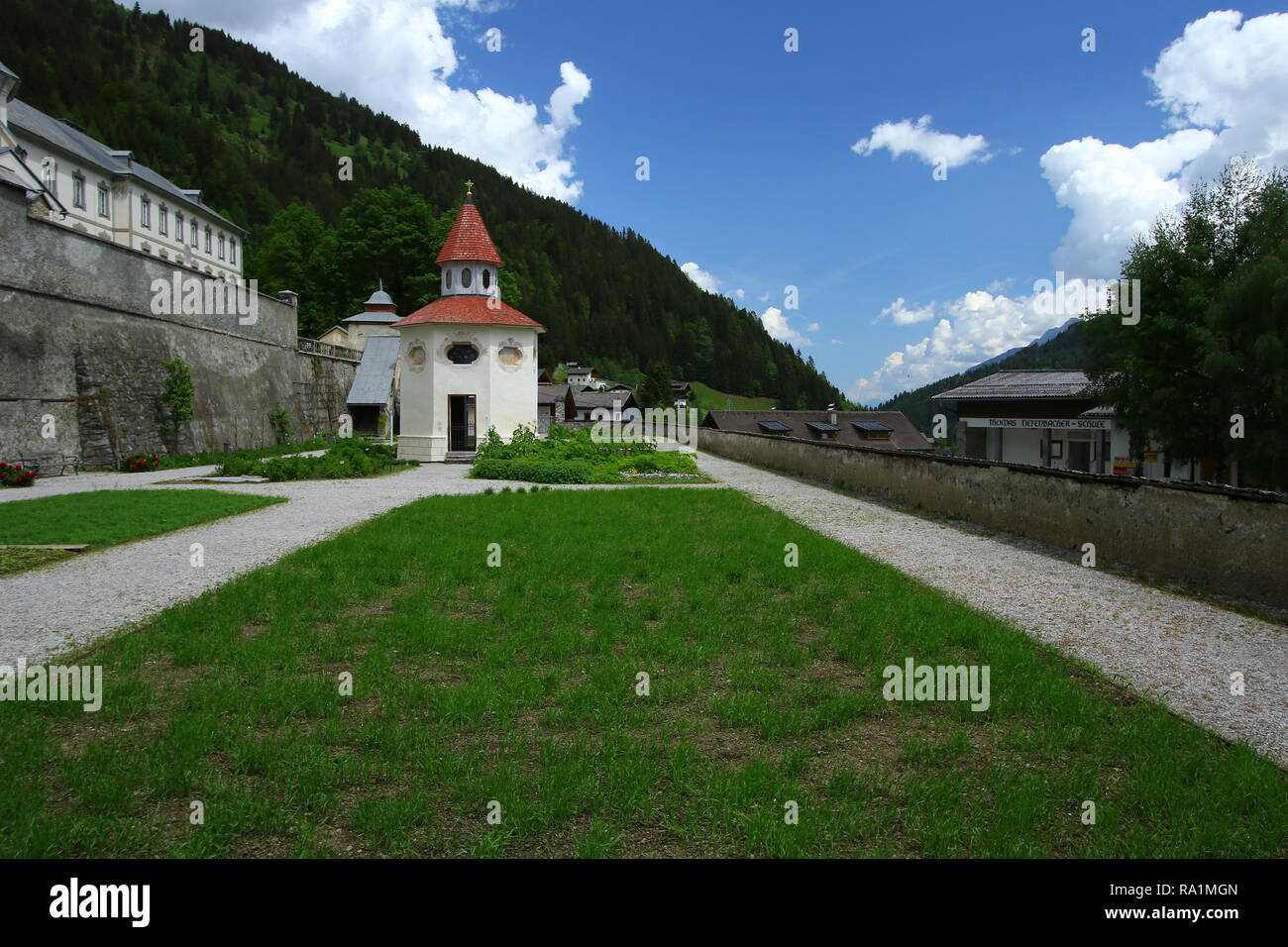 Lesachtal in Carinthia. Together with the villages of Liesing, Maria Luggau, St. Jakob, Birnbaum and St. Lorenzen. Wild Austria Europe. - Stock Image