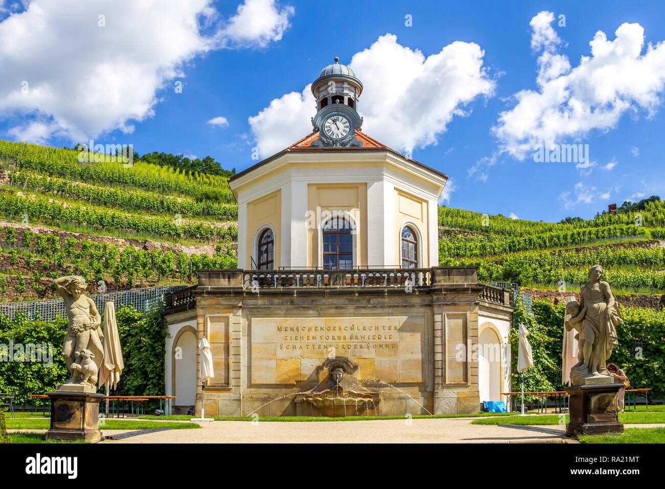 Castle Wackerbarth, Radebeul, Germany Stock Photo