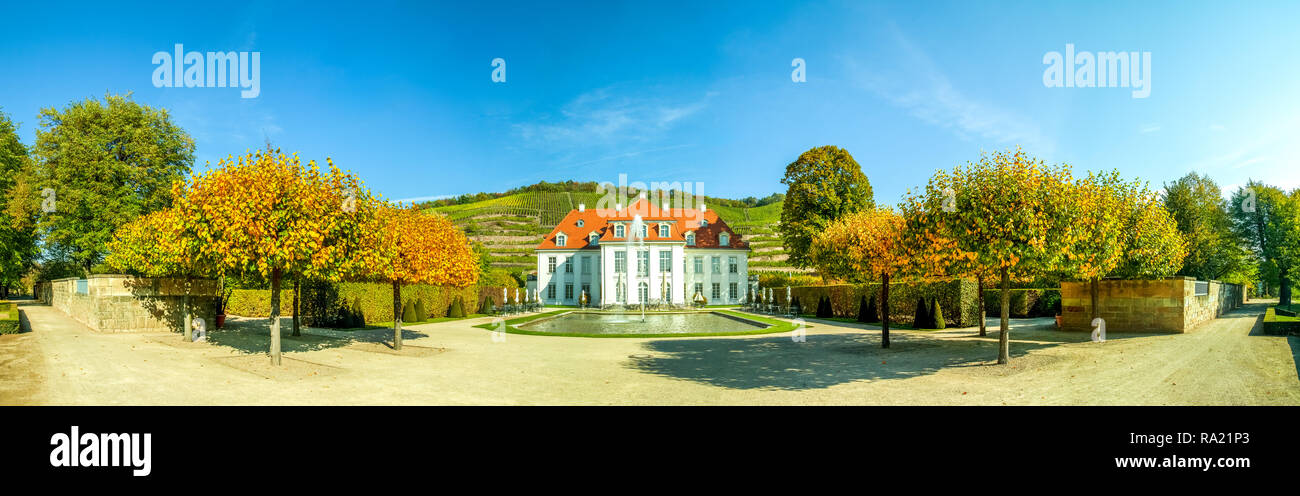 Castle Wackerbarth, Radebeul, Germany Stock Photo