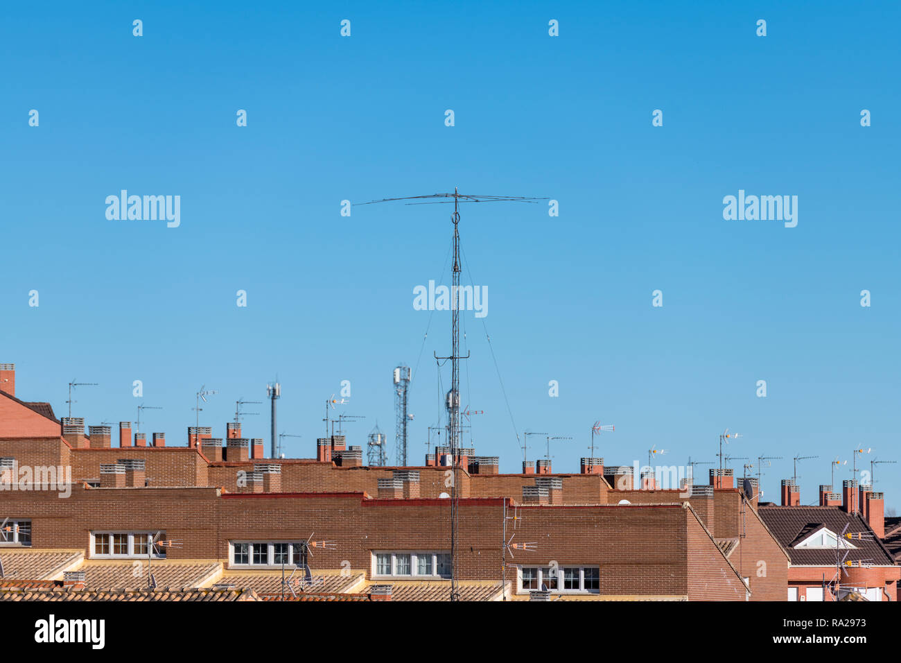 Ham Radio Antenna Stock Photos & Ham Radio Antenna Stock