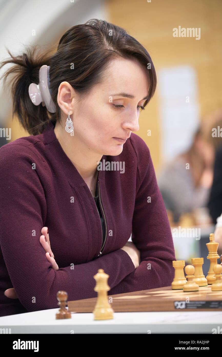 St. Petersburg, Russia - December 28, 2018: Grandmaster ...