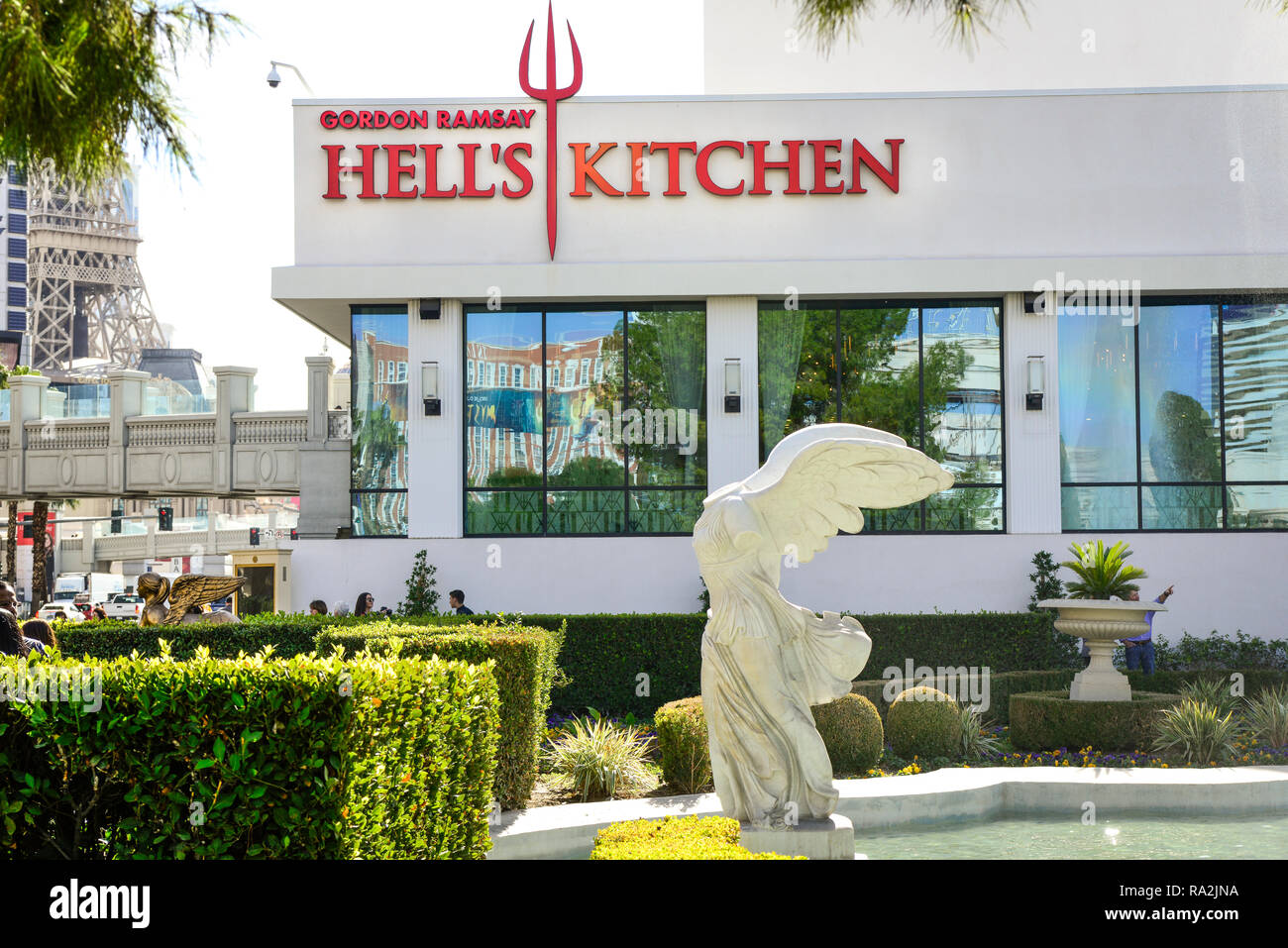 Astounding Headless Roman Winged Statue Facing The Las Vegas Strip At Interior Design Ideas Helimdqseriescom