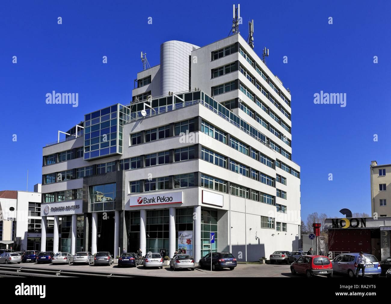 Poland , Pomerania , Gdynia , Baltic Business Center building BCC b - Stock Image