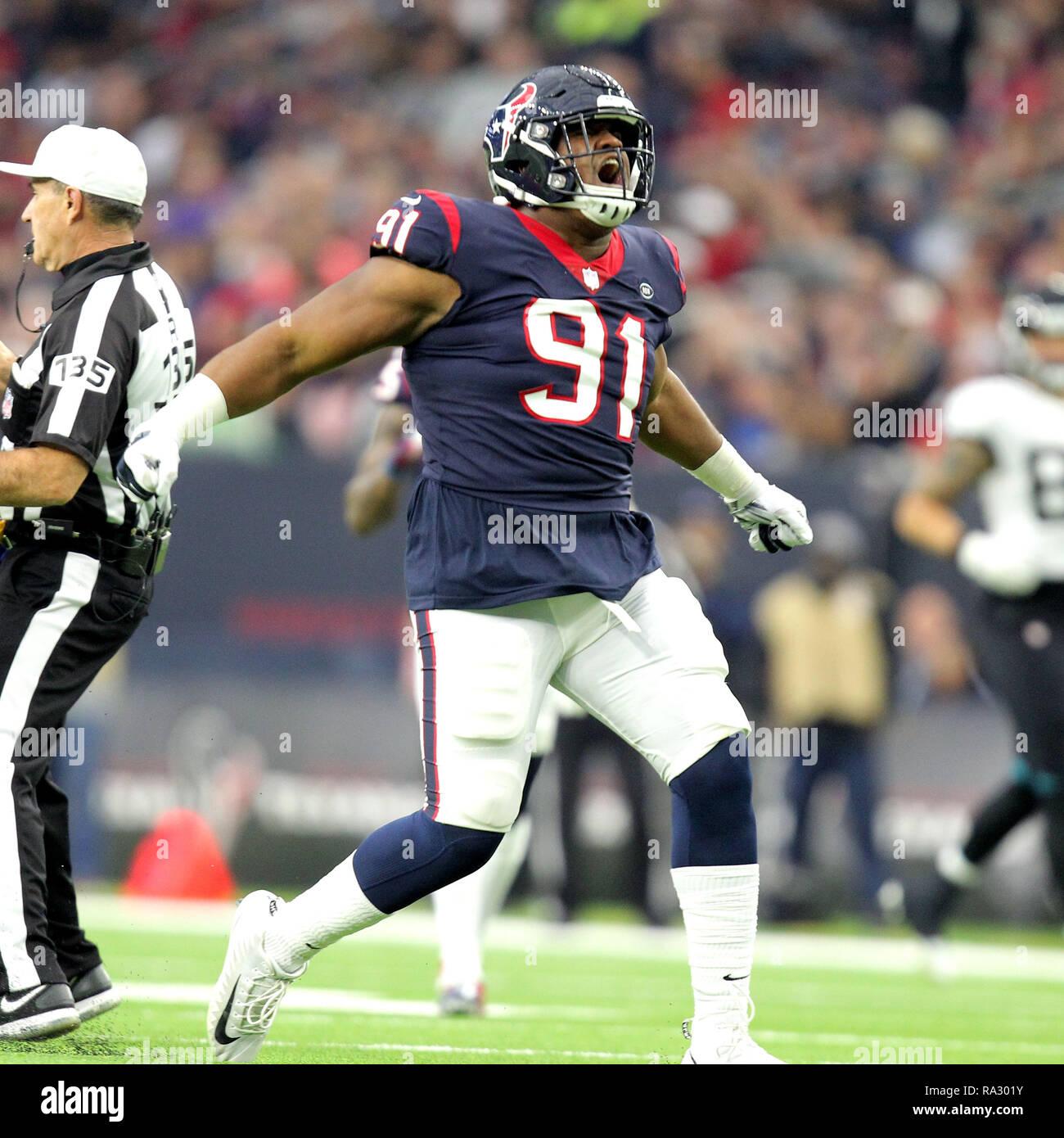 Houston, Texas, USA. 30th Dec, 2018. Houston Texans defensive end ...