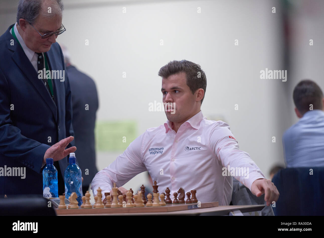 Magnus Carlsen Stock Photos & Magnus Carlsen Stock Images - Alamy