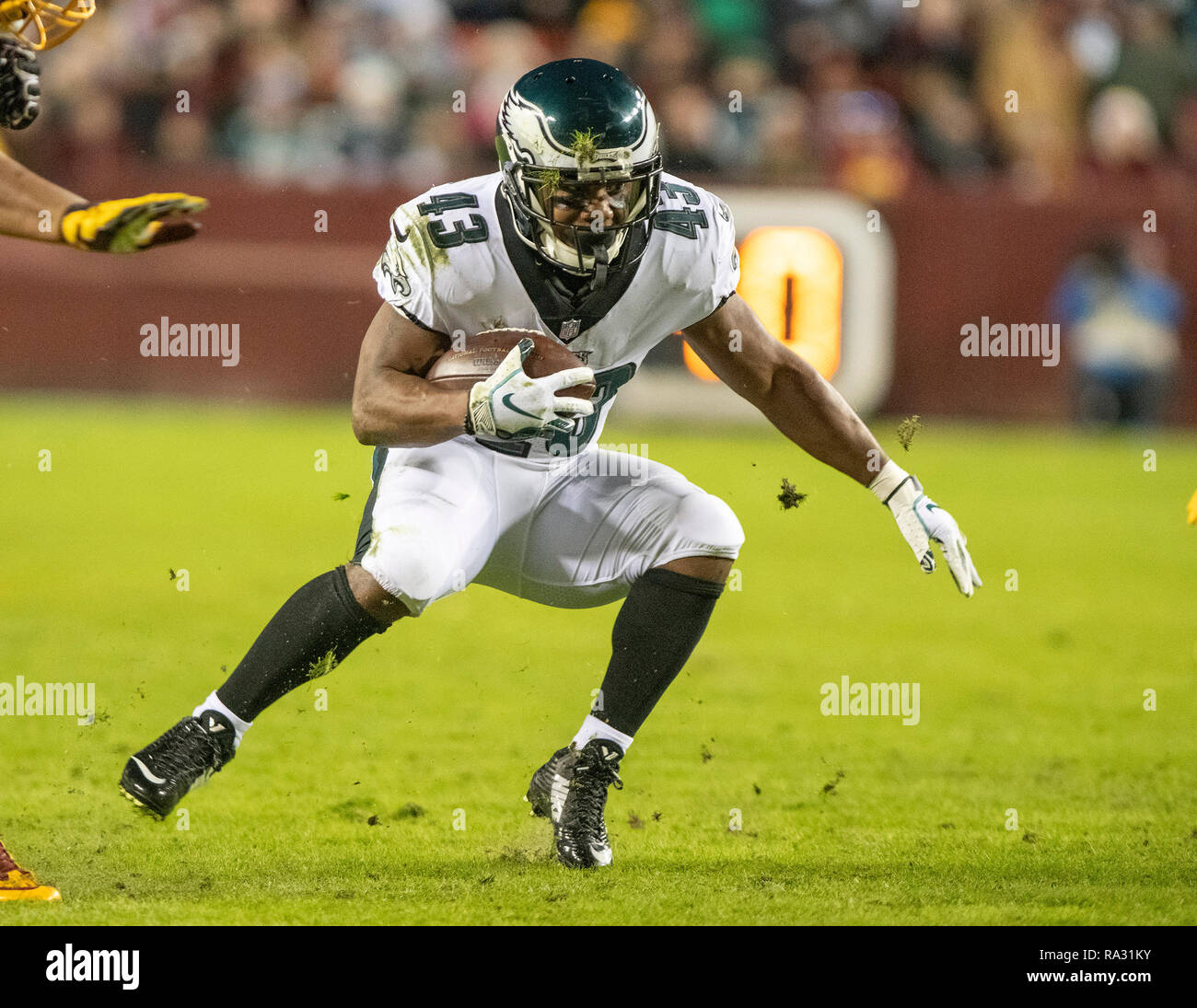 a454693f9fd Philadelphia Eagles running back Darren Sproles (43) carries the ball in  the second quarter
