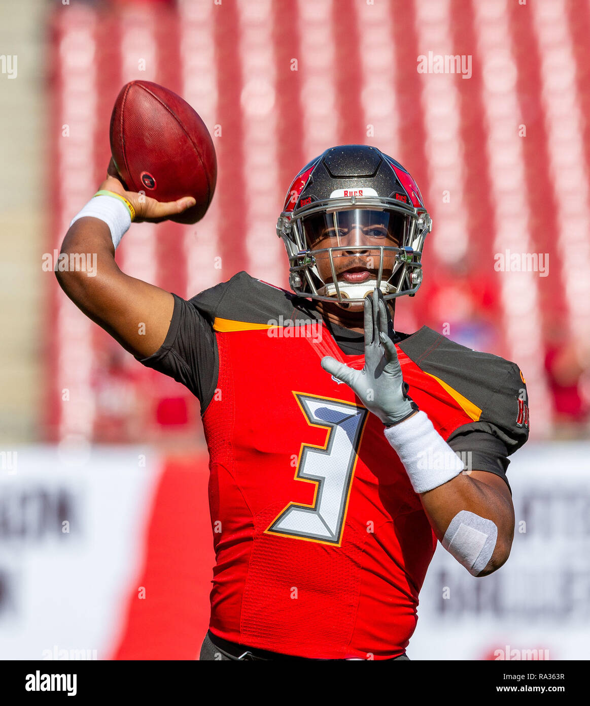 buy popular ad7e6 5e0b0 Tampa, Florida, USA. 30th Dec, 2018. Tampa Bay Buccaneers ...