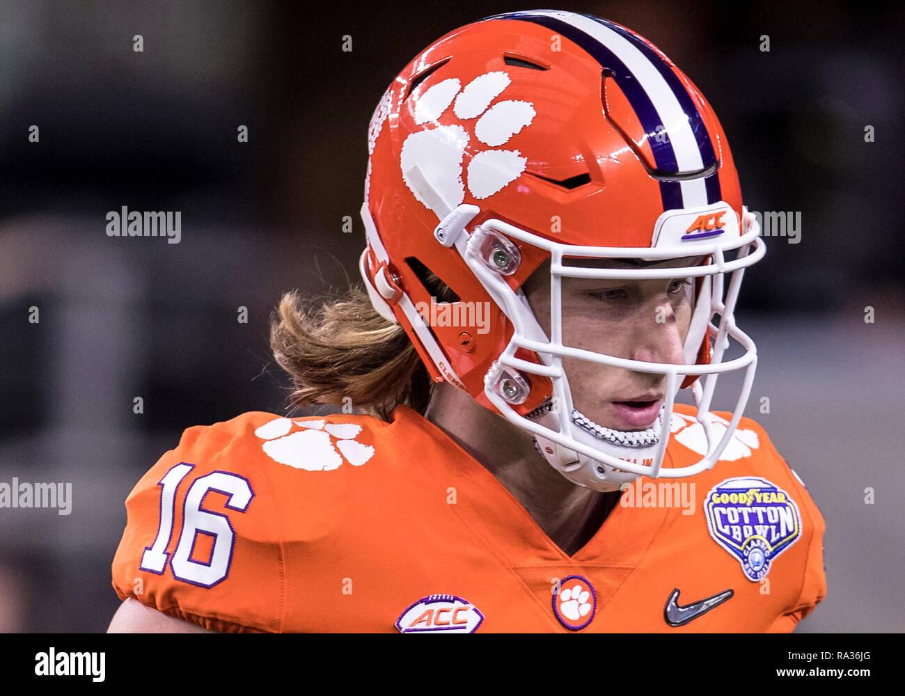 December 29 2018 Clemson Quarterback Trevor Lawrence 16 During