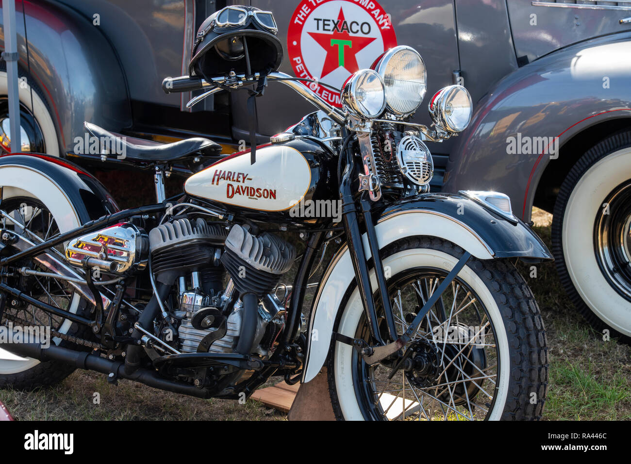 Harley Davidson Flathead Engine Stock Photos & Harley Davidson